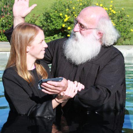 Kara Acken Landon's Baptism