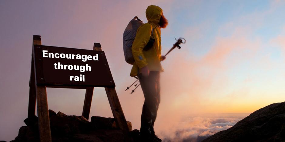 Encouraged through trails
